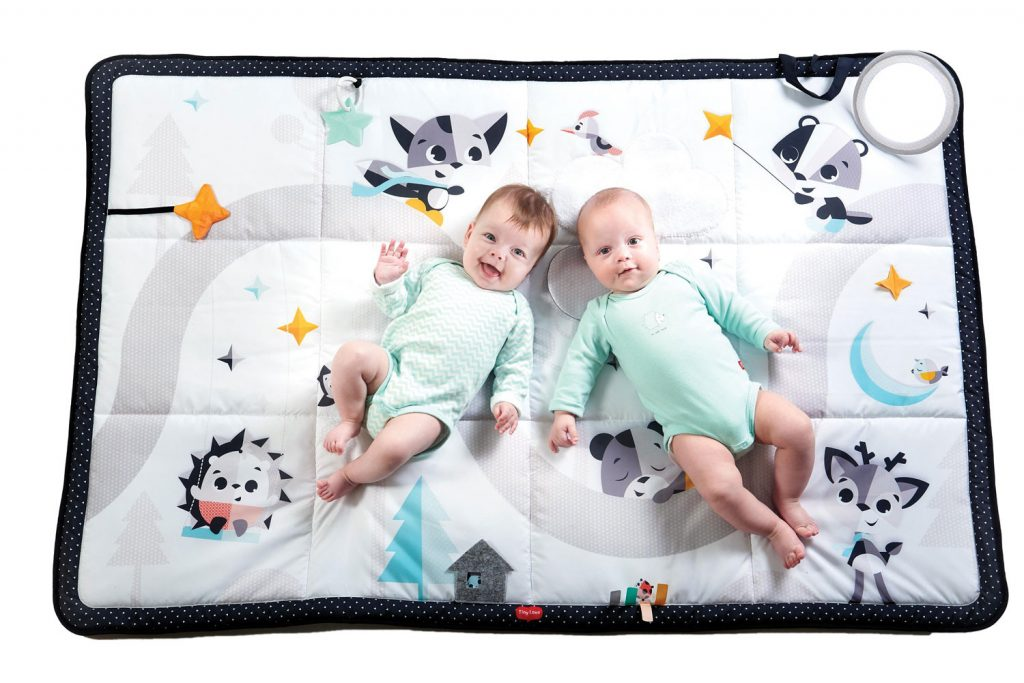 Tapis d'éveil XXL Black & White de Tiny Love