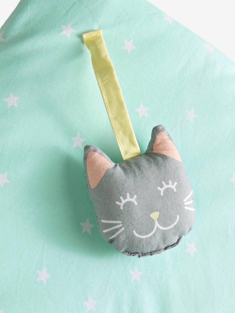 Jouet chat tapis d'éveil Vertbaudet